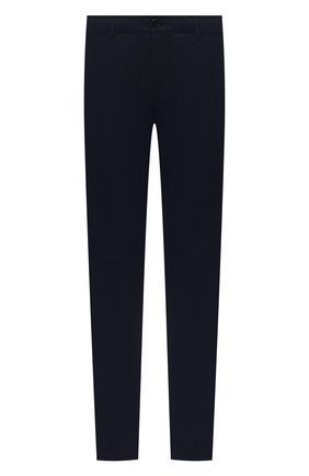 Мужские хлопковые брюки ASPESI темно-синего цвета, арт. W0 A CP42 E031   Фото 1