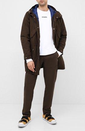 Мужской хлопковые брюки ASPESI хаки цвета, арт. W0 A CP42 E031 | Фото 2