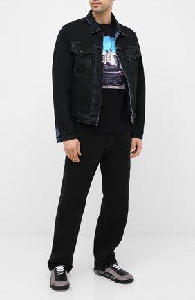 Мужская хлопковая футболка LIMITATO черного цвета, арт. HIGH HEELS/T-SHIRT REGULAR | Фото 2