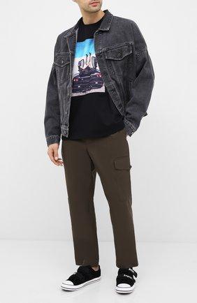 Мужская хлопковая футболка LIMITATO черного цвета, арт. HIGH HEELS/T-SHIRT RELAX | Фото 2