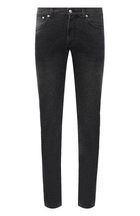 Мужские джинсы ALEXANDER MCQUEEN темно-серого цвета, арт. 625681/QPY77 | Фото 1
