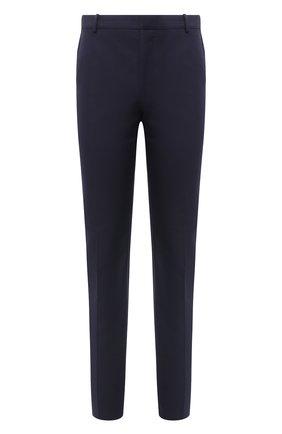 Мужской хлопковые брюки ALEXANDER MCQUEEN темно-синего цвета, арт. 615652/QPS47 | Фото 1