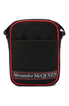 Мужская текстильная сумка ALEXANDER MCQUEEN черного цвета, арт. 610679/HV2CB | Фото 1