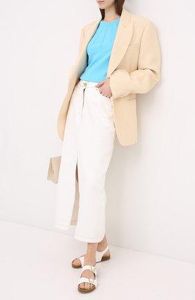 Женская пуловер ESCADA голубого цвета, арт. 5033409 | Фото 2