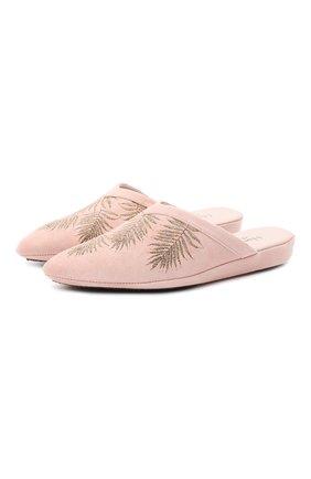 Женского туфли комнатные HOMERS AT HOME розового цвета, арт. 19077R/ANTE | Фото 1
