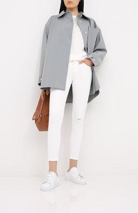 Женские джинсы MOUSSY белого цвета, арт. 025DSC12-1090 | Фото 2