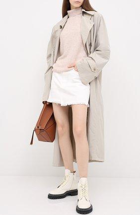 Женская джинсовая юбка MOUSSY белого цвета, арт. 025DSC11-2370 | Фото 2