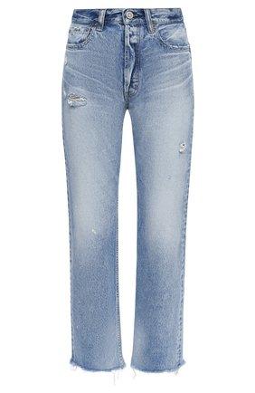Женские джинсы MOUSSY голубого цвета, арт. 025DSC11-2270 | Фото 1
