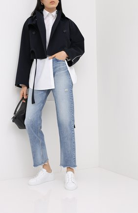 Женские джинсы MOUSSY голубого цвета, арт. 025DSC11-2270 | Фото 2