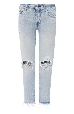 Женские джинсы MOUSSY голубого цвета, арт. 025DSC11-2020 | Фото 1