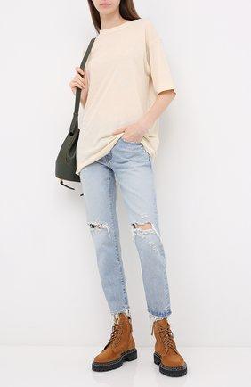 Женские джинсы MOUSSY голубого цвета, арт. 025DSC11-2020 | Фото 2