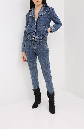 Женские джинсы MOUSSY синего цвета, арт. 025DSB11-0000 | Фото 2
