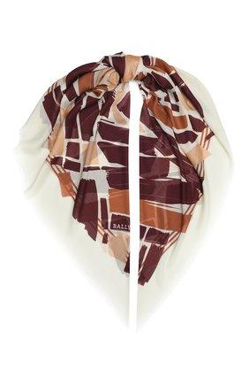 Женский шарф BALLY разноцветного цвета, арт. L7GM493T-9S181/205 | Фото 1