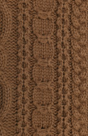 Женский шерстяной шарф BALLY коричневого цвета, арт. L7LR472K-8J453/335 | Фото 2