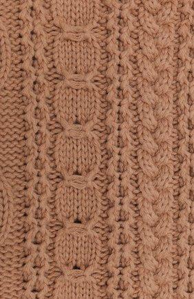 Женский шерстяной шарф BALLY бежевого цвета, арт. L7LR472K-8J453/696 | Фото 2