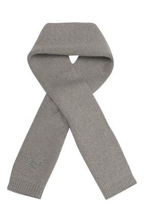 Женский шарф из шерсти и кашемира BALLY серого цвета, арт. L7LR473K-8J460/227 | Фото 1