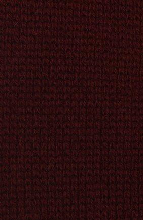 Женский шарф из шерсти и кашемира BALLY бордового цвета, арт. L7LR473K-8J460/597 | Фото 2