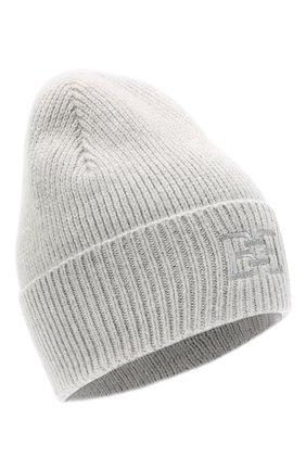 Женский шапка из шерсти и кашемира BALLY серого цвета, арт. L8LR054K-8J460/227   Фото 1