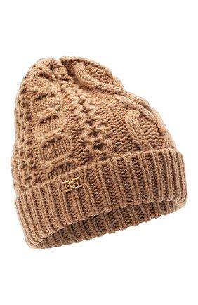 Женский шерстяная шапка BALLY коричневого цвета, арт. L8LR057K-8J453/335   Фото 1