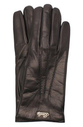 Женские кожаные перчатки BALLY черного цвета, арт. L9P0031L-1S016/00 | Фото 1