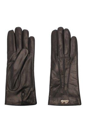 Женские кожаные перчатки BALLY черного цвета, арт. L9P0031L-1S016/00 | Фото 2