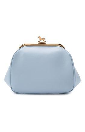 Женская сумка ULYANA SERGEENKO голубого цвета, арт. BRS014CLASSX (0416с) | Фото 1