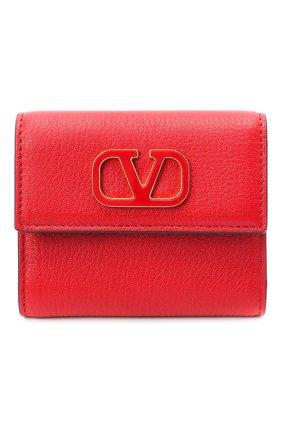Женские кожаное портмоне valentino garavani VALENTINO красного цвета, арт. UW2P0T39/ACY | Фото 1