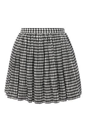Женская юбка REDVALENTINO черно-белого цвета, арт. UR3RFA55/55W | Фото 1