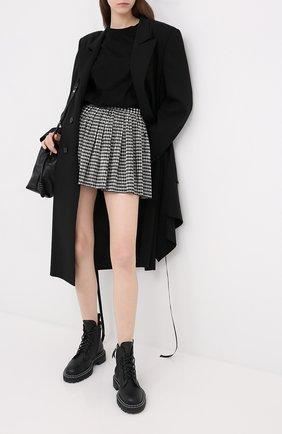 Женская юбка REDVALENTINO черно-белого цвета, арт. UR3RFA55/55W | Фото 2