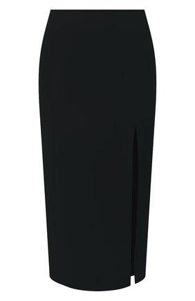 Женская юбка из вискозы REDVALENTINO черного цвета, арт. UR3RAE50/3SM | Фото 1