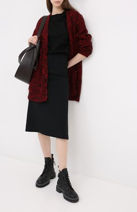 Женский шерстяной кардиган REDVALENTINO красного цвета, арт. UR3KA00A/58C | Фото 2