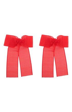 Детская комплект из двух лент ribbon JUNEFEE красного цвета, арт. 6089 | Фото 1