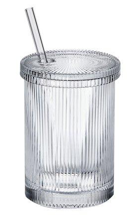 Мужской стакан с трубочкой virgil abloh  BACCARAT прозрачного цвета, арт. 2 814 147   Фото 1