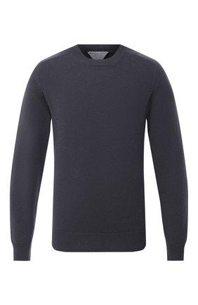 Мужской шерстяной свитер BOTTEGA VENETA темно-серого цвета, арт. 626971/VKXJ0 | Фото 1