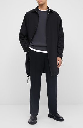 Мужской шерстяной свитер BOTTEGA VENETA темно-серого цвета, арт. 626971/VKXJ0 | Фото 2