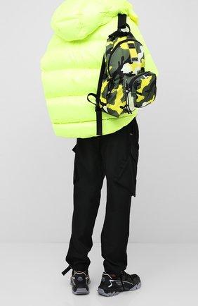 Текстильный рюкзак Valentino Garavani VLTN My Tag | Фото №2