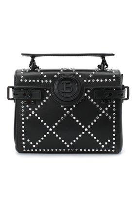 Женский рюкзак bbuzz 18 BALMAIN черного цвета, арт. UN1S522/ANGS | Фото 1