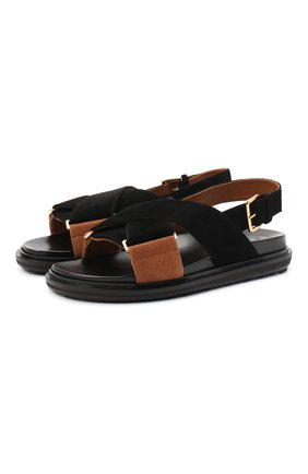 Кожаные сандалии Fussbett | Фото №1