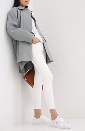 Женские кожаные кеды clean 90 bird AXEL ARIGATO белого цвета, арт. 98597 | Фото 2