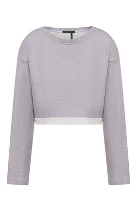 Женская хлопковый пуловер KORAL сиреневого цвета, арт. A6457F78 | Фото 1