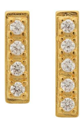 Женские серьги nine dots ANNI LU золотого цвета, арт. 172-01-08 | Фото 1