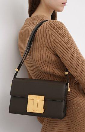 Женская сумка TOM FORD хаки цвета, арт. L1262T-LG0009 | Фото 2
