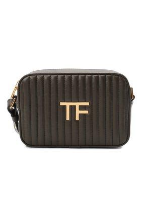 Женская сумка TOM FORD хаки цвета, арт. L1337T-ICL019 | Фото 1
