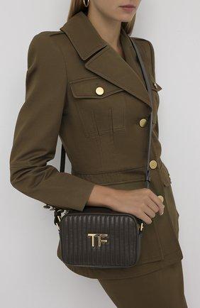 Женская сумка TOM FORD хаки цвета, арт. L1337T-ICL019 | Фото 2