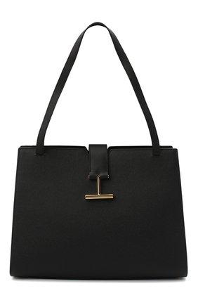 Женская сумка tara TOM FORD черного цвета, арт. L1343T-LCL083 | Фото 1