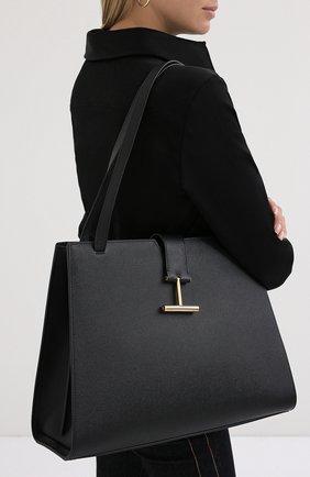 Женская сумка tara TOM FORD черного цвета, арт. L1343T-LCL083 | Фото 2