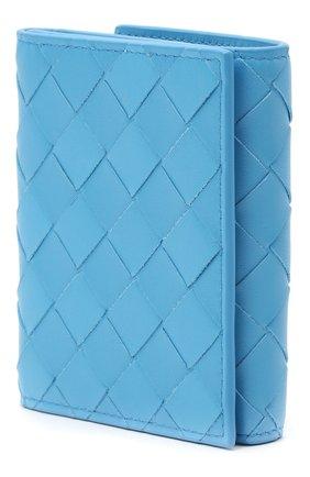 Женские портмоне BOTTEGA VENETA синего цвета, арт. 608074/VCPP3 | Фото 2
