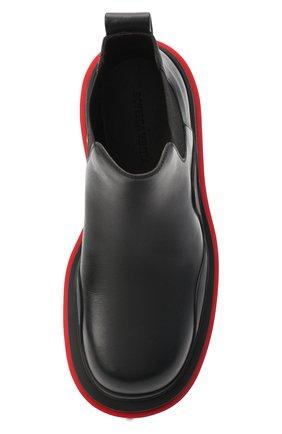 Женские кожаные ботинки bv tire BOTTEGA VENETA черного цвета, арт. 630300/VBS50 | Фото 5