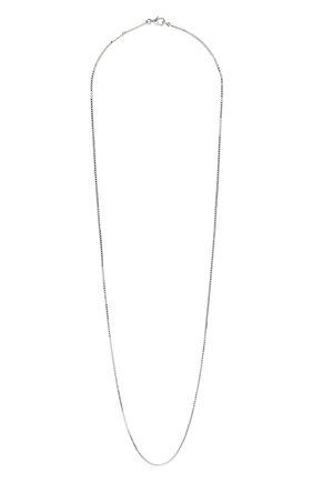 Женское цепочка BOTTEGA VENETA серебряного цвета, арт. 622025/V5070 | Фото 1