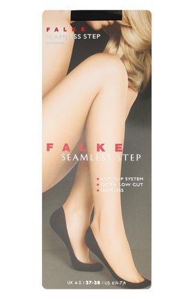 Женские подследники seamless step FALKE черного цвета, арт. 44033 | Фото 1